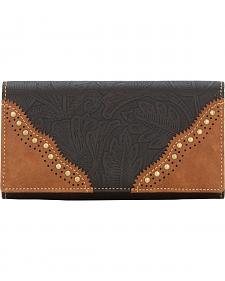 Bandana by American West Castle Rock Flap Wallet