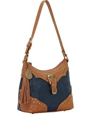 Bandana by American West Castle Rock Shoulder Bag