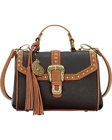 Bandana by American West Castle Rock Top Handle Convertible Flap Bag