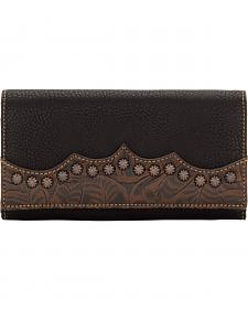 American West Bandana Jackson Hole Flap Wallet