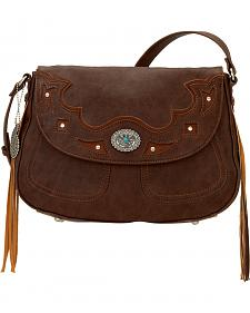 Bandana by American West Lexington Crossbody Flap Bag