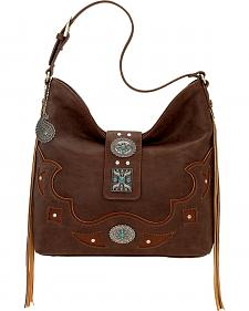 Bandana by American West Lexington Slouch Shoulder Bag