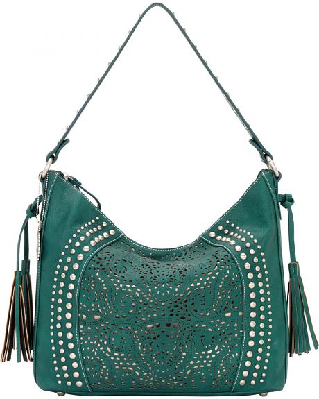 Bandana by American West Mesa Collection Slouch Hobo Shoulder Bag
