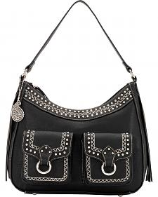 Bandana by American West Missoula Collection Large Zip Top Shoulder Bag