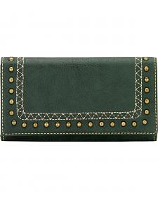 American West Bandana Missoula Collection Flap Wallet