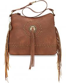 American West Bandana Sioux Collection Zip Top Shoulder Bag