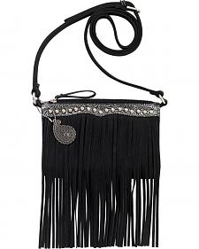 Bandana by American West Sun Valley Fringe Crossbody Bag