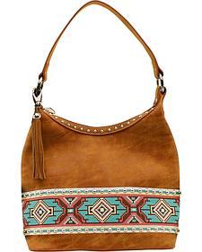 Blazin Roxx Shania Collection Aztec Ribbon Hobo Bag