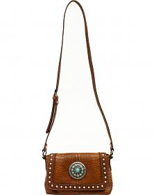 Blazin Roxx Charlotte Collection Concho Crossbody Purse