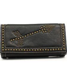 Blazin Roxx Claire Collection Double Arrows Wallet