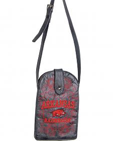 Gameday Boots University of Arkansas Crossbody Bag