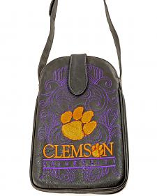 Gameday Boots Clemson University Crossbody Bag