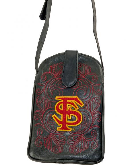 Gameday Boots Florida State University Crossbody Bag
