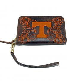 Gameday Boots University of Tennessee Leather Wristlet