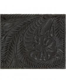 American West Boyfriend Ladies Black Bi-Fold Wallet