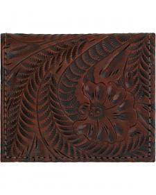 American West Boyfriend Ladies Chestnut Brown Bi-Fold Wallet