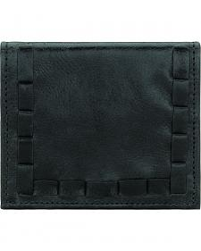 American West Boyfriend Ladies Black Soft Bi-Fold Wallet