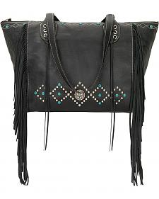 American West Black Canyon Creek Canyon Large Zip Top Tote