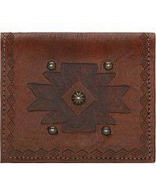 American West Chestnut Boyfriend Ladies Soft Bi-Fold Wallet