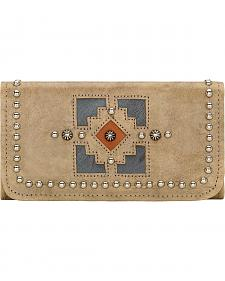 American West Annie's Secret Sand Tri-Fold Wallet