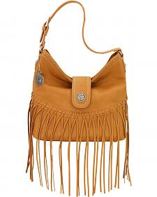 Bandana by American West Tan Rio Rancho Hobo Shoulder Bag
