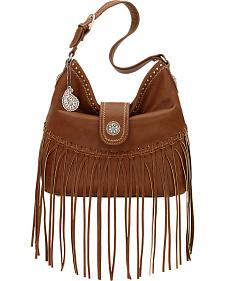 American West Bandana Brown Rio Rancho Hobo Shoulder Bag