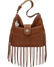 Bandana by American West Brown Rio Rancho Hobo Shoulder Bag