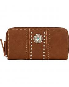 Bandana by American West Brown Rio Rancho Wallet