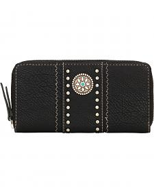 American West Bandana Black Rio Rancho Wallet