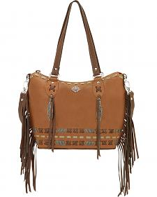 American West Mohican Melody Collection Convertible Bucket Tote