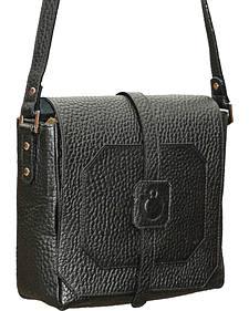 Designer Concealed Carry Black Cubic Crossbody Bag