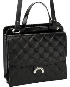 Designer Concealed Carry Quilted Newport Crossbody Bag