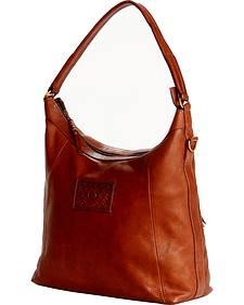 Designer Concealed Carry Brown Sonoma Hobo Handbag