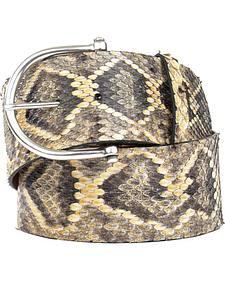 Lucchese Women's Eastern Rattlesnake Belt