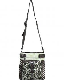 Savana Ivory Lace Embroidered Crossbody