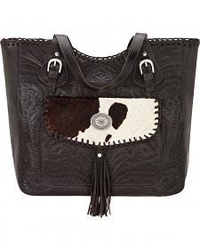 American West Chocolate Annie's Secret Concealed Carry Tote Bag