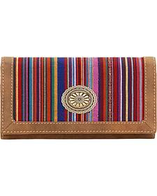 Bandana by American West Serape Flap Wallet
