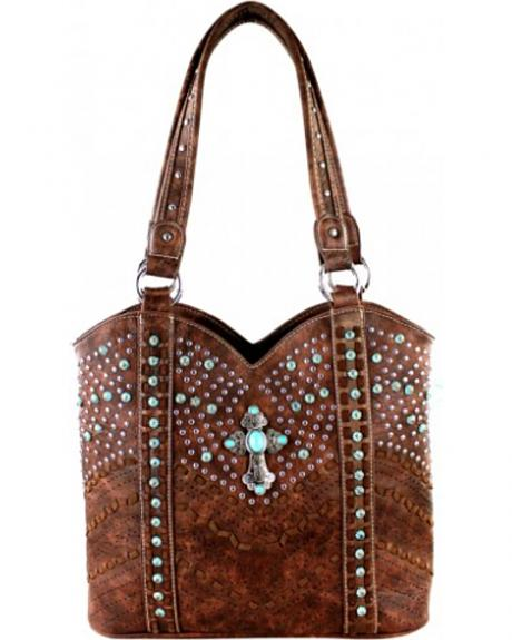 Montana West Coffee Spiritual Collection Tote