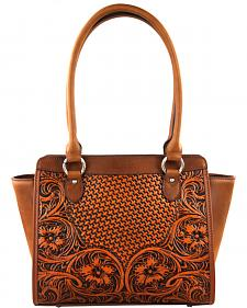Montana West Brown Delila 100% Genuine Leather