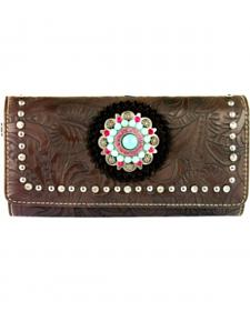 Montana West Concho Collection Wallet