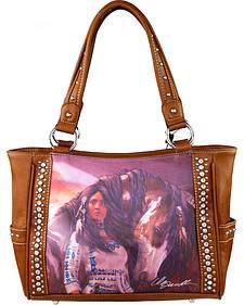 Montana West Horse Art Concealed Handgun Handbag-Laurie Prindle