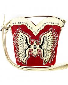 Montana West Cut-Out Native American Thunderbird Crossbody Bag