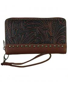 Montana West Trinity Ranch Tooled Design Wallet