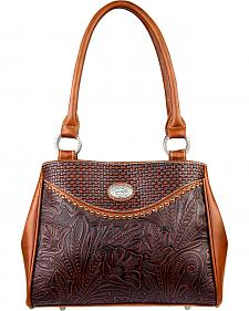Montana West Trinity Ranch Tooled Design Concealed Handgun Collection Handbag