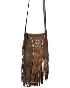 Kobler Leather Tan Shoulder Bag