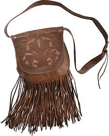 Kobler Leaher Hand-Tooled Antique Finish Bag