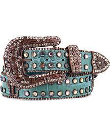 Shyanne Women's Gator Embossed Belt