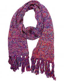 Shyanne Space Dye Cable Knit Scarf