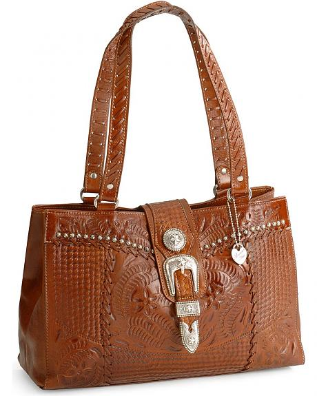 American West Retro Romance Shopper Handbag