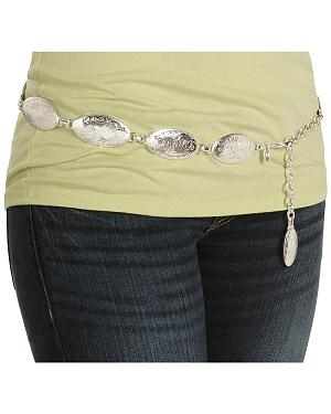 Tony Lama Concho Hip Belt